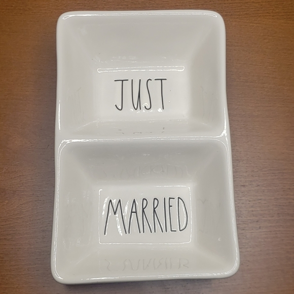 Rae Dunn Other - Rae Dunn Tray Just Married